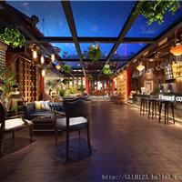 成都咖啡厅设计-上雅都市情怀咖啡厅