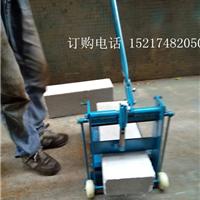 供应手动切砖机手压切砖机无需千斤顶切砖机