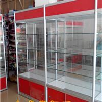 供应玻璃展柜,精品货架,钛合金展柜