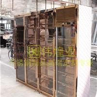 伟煌业供应不锈钢恒温酒柜洋酒展示架精品展示柜红酒柜葡萄酒柜