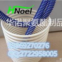 pu聚氨酯塑筋软管抗静电塑筋管耐磨筋增强管