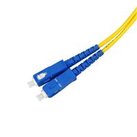 供应厂家直销SC单模单芯光纤跳线尾纤
