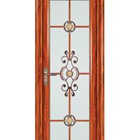 建材装饰门 室内中高端平开门 铝合金平开门