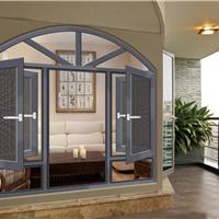别墅洋房专用铝合金组合窗 安全环保性型材