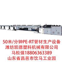 供应高速PE-RT管材机组