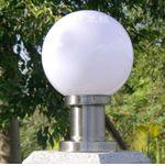 供应户外球形柱头灯不锈钢防水灯围墙灯