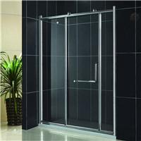 厂家直销一字型淋浴屏 铝合金创意卫浴门