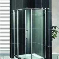 弧扇形浴室隔断淋浴房