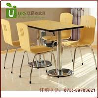 质量上乘的快餐桌椅工厂直销 快餐桌椅尺寸