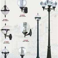 供应中山LED铝制庭院灯压铸铝单双头路灯
