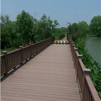 江苏塑木护栏 无锡木塑栏杆 苏州木塑围栏