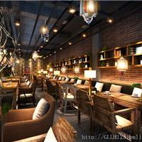 成都咖啡厅设计-工业风咖啡店