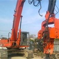 厂家供应公路打桩设备 液压护栏打桩机