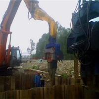 厂家供应液压护栏打桩设备  混凝土打桩机