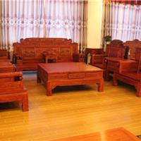 红木沙发 雍王府缅甸花梨木财源滚滚沙发