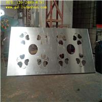 铝板雕刻大门拉手 雕刻机雕铝板