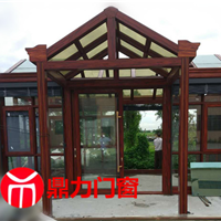 合肥想要阳光房更坚固就用铝合金结构