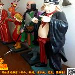 江西厂家玻璃钢雕塑西游记孙悟空猪八戒雕塑
