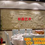 厂家 手工砂岩浮雕背景墙 装饰壁画 玄关画
