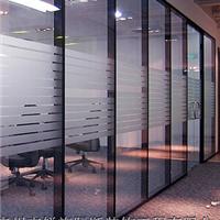 锐旗隔断供应广州市办公室玻璃固定隔断