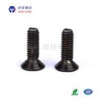 供应劲佳PVD黑色CD纹螺丝-螺丝盐雾测试标准