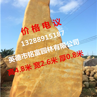 供应大型黄蜡石 天然黄水石 精品假山黄蜡石