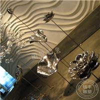 供应不锈钢水景雕塑,酒店大堂装饰雕塑厂家