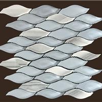 供应优质异形玻璃拼石材马赛克