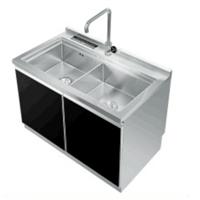 厂家直销供应不锈钢集成水槽自动清洗洗碗机