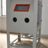 瑞安1010五金铝合金表面手动喷砂机
