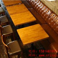 深圳连锁西餐厅桌椅、实木咖啡厅家具厂家