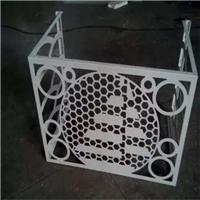 高档小区楼盘专用铝合金空调罩/铝防护罩