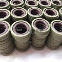 供应聚四氟乙烯 铜粉格莱圈 PTFE斯特封规格