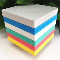 1.22*2.44 高密度彩色PVC板发泡板厂家直销