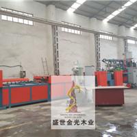 潍坊莱亚塑面模板生产线