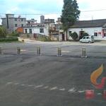 供应 升降隔离路桩  消防通道防停车路桩