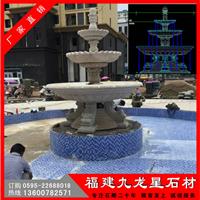 供应欧式水钵 喷水石钵 圆钵流水喷水池雕刻