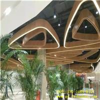 铝板焊接异形铝方通墙体立面