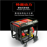 供应5KW380V遥控柴油发电机