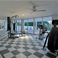 供应健身房专用地板,自锁扣免刷胶