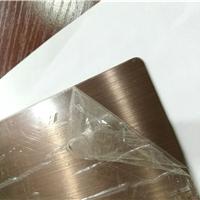 供应拉丝红古铜不锈钢板 304不锈钢板红古铜
