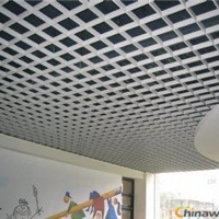 超市铝格栅吊顶