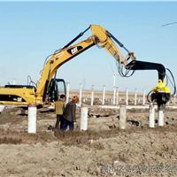 挖掘机液压打桩机直销
