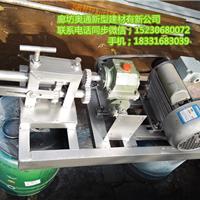 白铁皮卷板机/电动滚圆机/铝板压边机