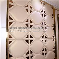 欧式沙发软包背景墙 吸附工艺加镜片工艺