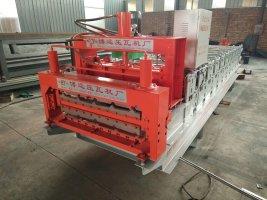 供应840/900双层琉璃瓦成型压瓦机设备