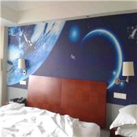 供应主题酒店壁画公司 主题式ktv星空墙纸