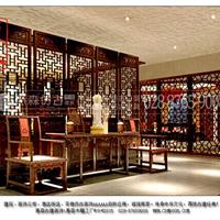 古典雕花门窗 茶楼外装饰门窗 中式家具
