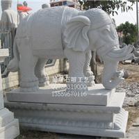 供应石雕动物 石雕大象 石雕动物定制