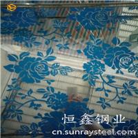 供应高档镜面蚀刻不锈钢板  蚀刻花纹装饰板